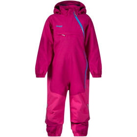 Bergans Snøtind Insulated Coverall Kids cerise/hot pink/light winter sky